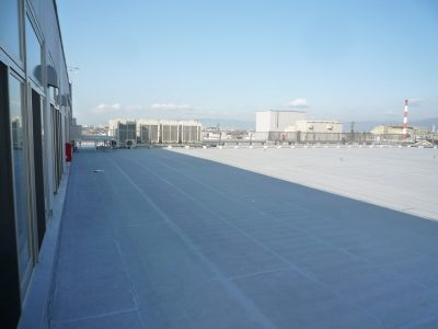 工場の屋上緑化は、工場立地法で必要な緑地にもなる!