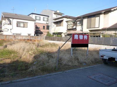 空き地の草刈り|売土地が雑草だらけでゴミを捨てられる 大阪市住吉区