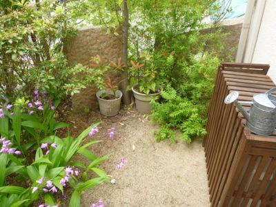 庭を人工芝にしたい|引越し先の庭をリフォーム 大阪府枚方市